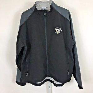 NHL Pittsburgh Penguins Men's Hockey Jacket Sz XL